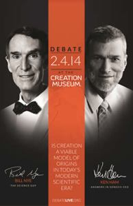 Bill Nye vs Ken Ham, Feb 4, 2014