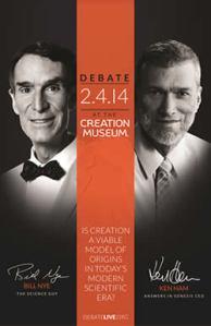Bill Nye vs Ken Ham, Feb 4, 2014
